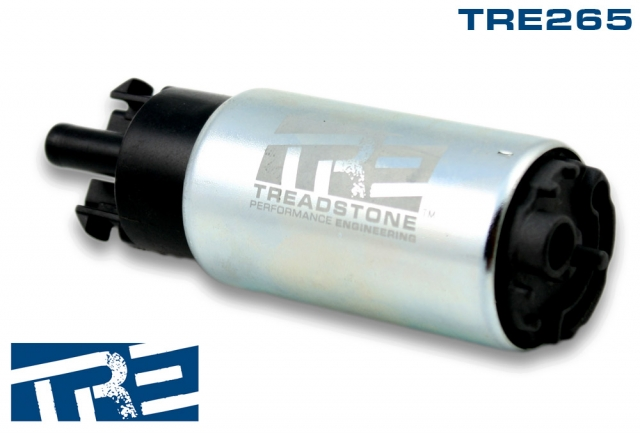 TRE265 Treadstone Compact 65mm 265lph In-tank Fuel Pump