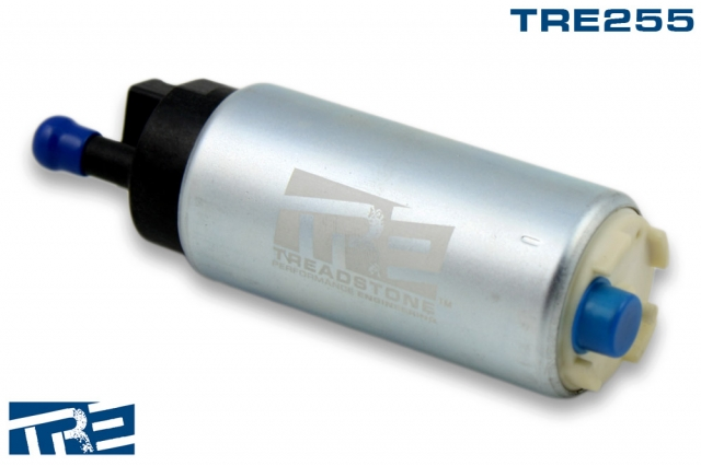 TRE255 Treadstone 255lph High Pressure In-tank Fuel Pump, Inline 342 Style